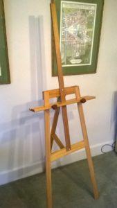 Art Show Partitioning Prado display easel